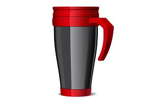 Travel thermos-cup