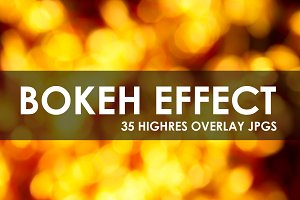 Bokeh Effect Overlay Pack