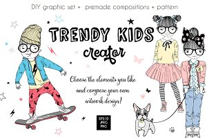 Trendy kids creator