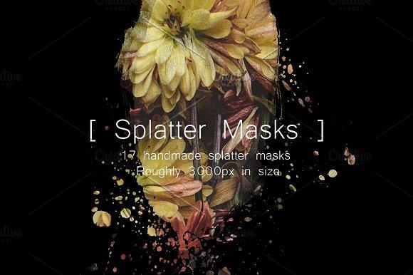 Splatter Masks Brushes