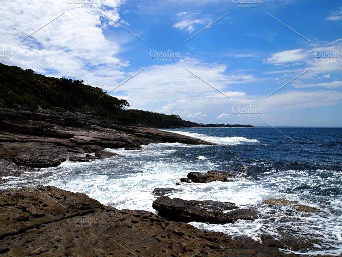 Rocks vs. Sea - Nature
