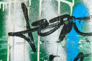 Graffiti Wall Detail