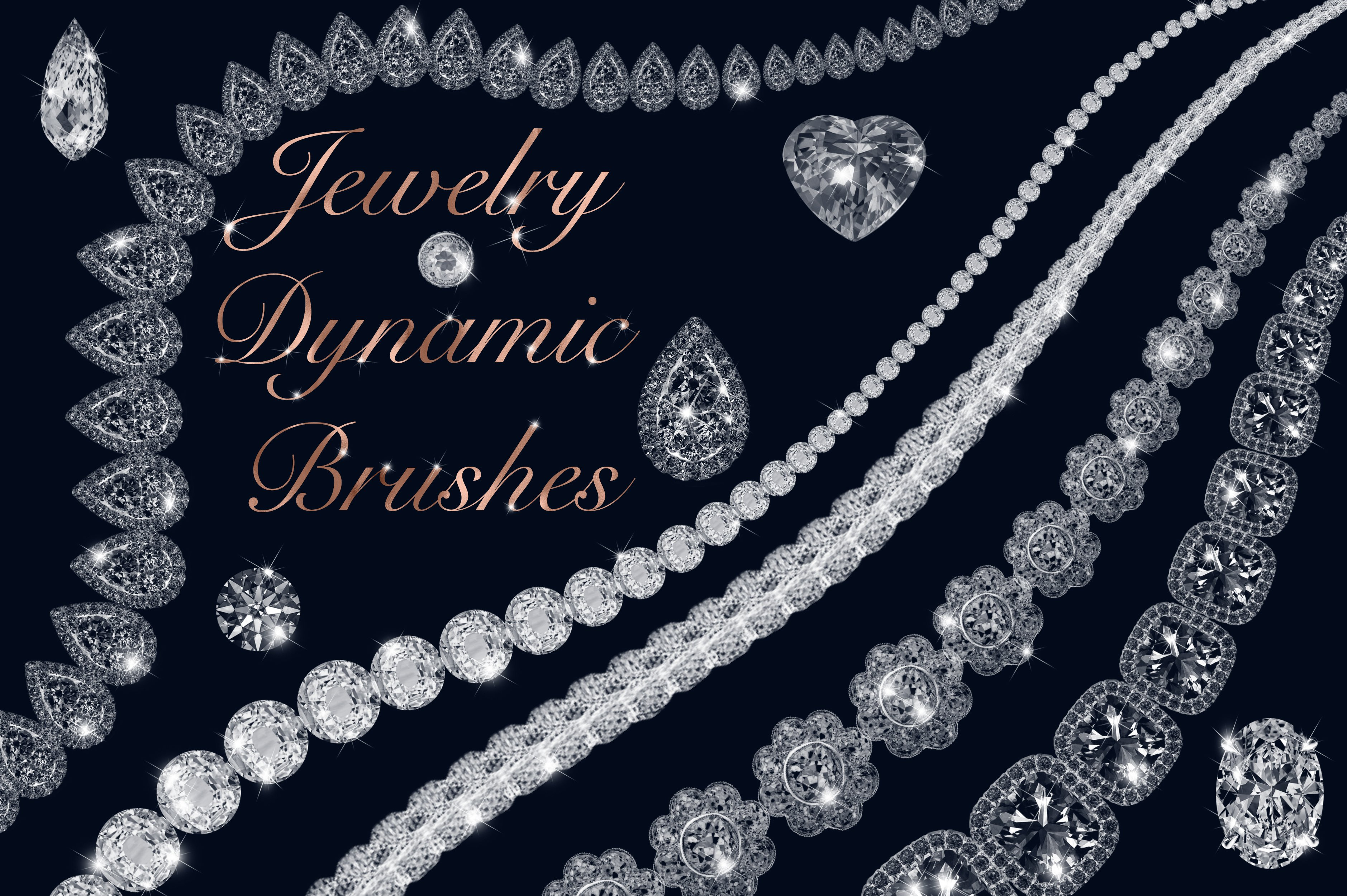 Jewelry Dynamic Brushes ~ Photoshop Add-Ons ~ Creative Market