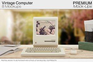 Vintage Computer Mockups