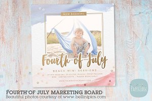 IT005 4th July Marketing Board