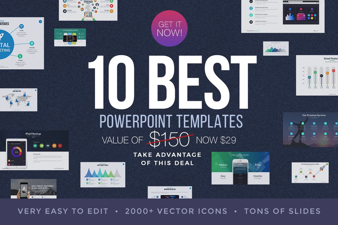Best powerpoint templates bundle presentation templates creative best powerpoint templates bundle presentation templates creative market toneelgroepblik Image collections
