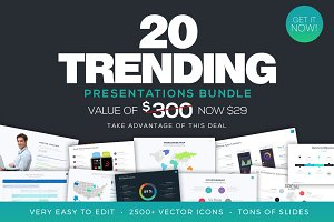 Trending Presentations Bundle