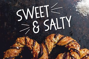 Sweet & Salty - A Bouncy Sans Serif