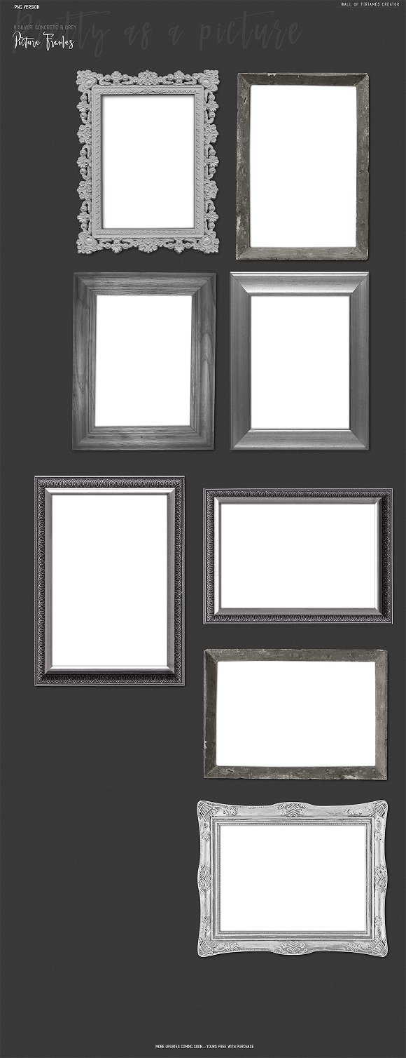Frame Creator PNG Version w Bonus ~ Product Mockups ~ Creative Market