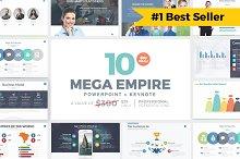 MEGA EMPIRE Powerpoint + Keynote