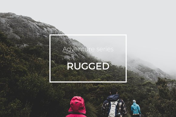 Adventure Series Rugged LR Preset