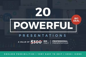 20 Powerful Presentations Bundle