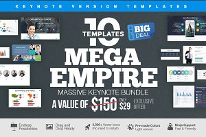 MEGA EMPIRE Keynote Bundle