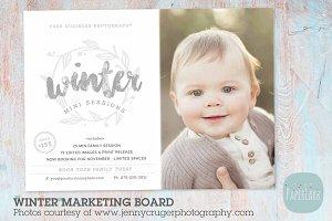 IW025 Winter Marketing Board