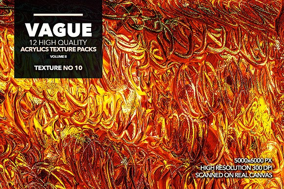 Vague II: 12 Acrylics Textures in Textures - product preview 10