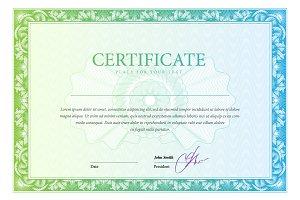 Certificate105