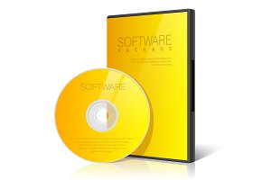 Cool Realistic Yellow Case for Disk