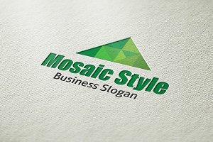 Mosaic Style Logo