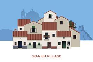 Typical Spanish Village