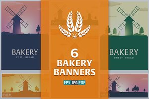 Bakery banners and posters