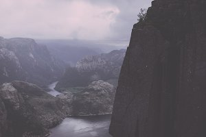 Preikestolen Rock (Vintage Colors)