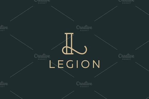 Elegant Line Curve Vector Logotype Premium Letter L Logo Design Luxury Linear Creative Monogram