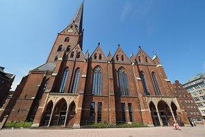 St Petri Church in Hamburg