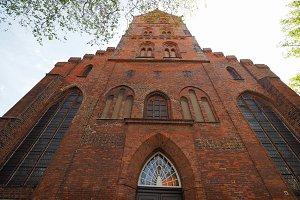 St Aegidien church in Luebeck