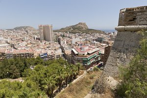 Views of the city of Alicante