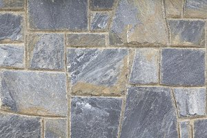Grey stone wall pattern