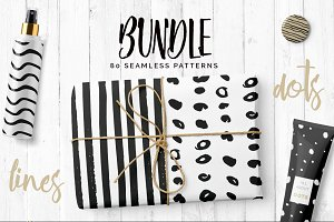 Dots & Lines Patterns Bundle