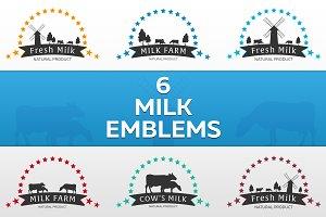 Milk Emblems