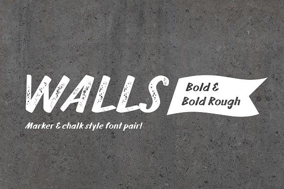 Walls Bold Walls Rough Bold