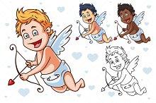 Cartoon Vector Cupid