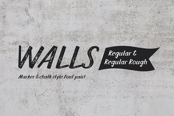 Walls Regular Walls Rough Regular