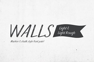 Walls Light & Walls Rough Light