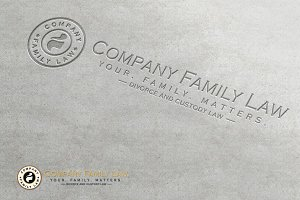 Family Law Company Logo