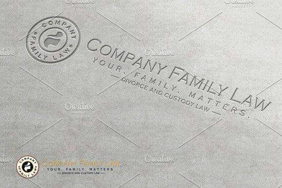 Family Law Company Logo