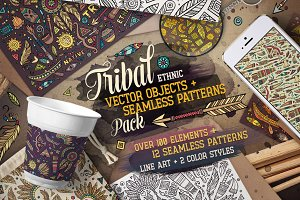 Tribal Ethnic Vector Pack