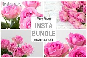 Pink Roses Insta Bundle