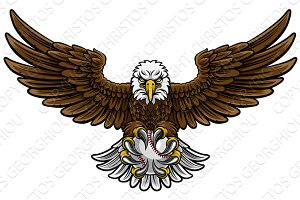 Eagle Baseball Sports Mascot