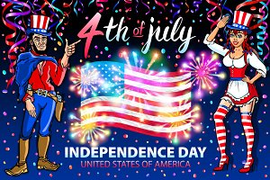 Independence Day 4th of July USA