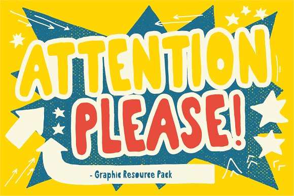 Attention! - Graphic Element pack