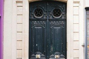 Parisienne Door in Black
