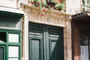 A Parisian Door, II