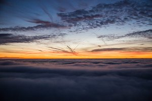 Dramatic Clouds at Dawn