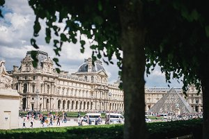 A View of the Louvre