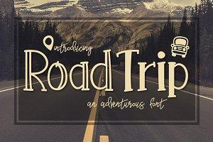 Road Trip a Adventurous Font