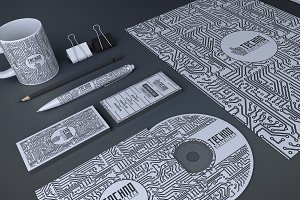 Techno Business Branding Identity