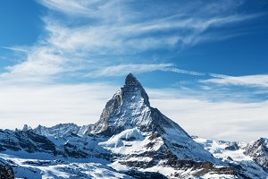 Matterhorn peak, Switzerland